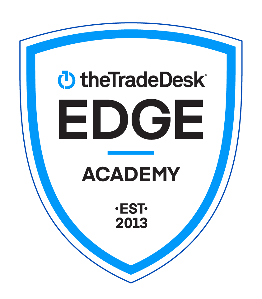 The Trade Desk Edge Academy badge